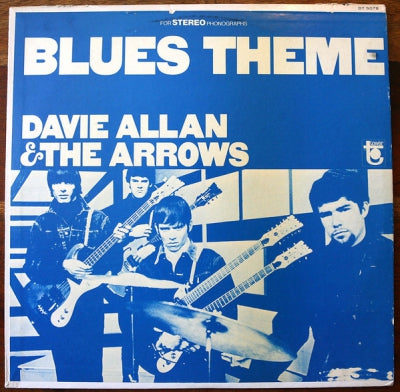 DAVIE ALLAN & THE ARROWS - Blues Theme
