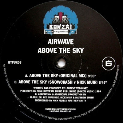 AIRWAVE - Above The Sky