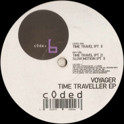 VOYAGER - Time Traveller EP