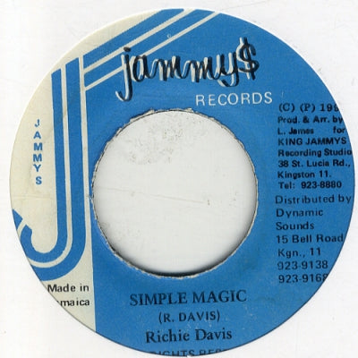 RICHIE DAVIS - Simple Magic / Version