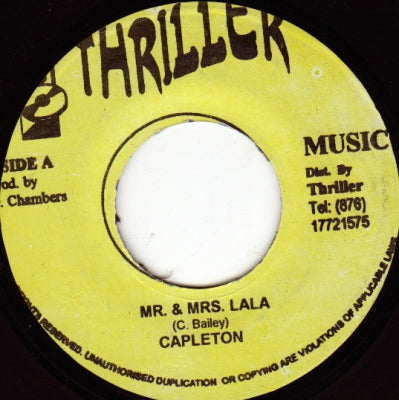 CAPLETON - Mr and Mrs Lay Lay / Thriller Dub