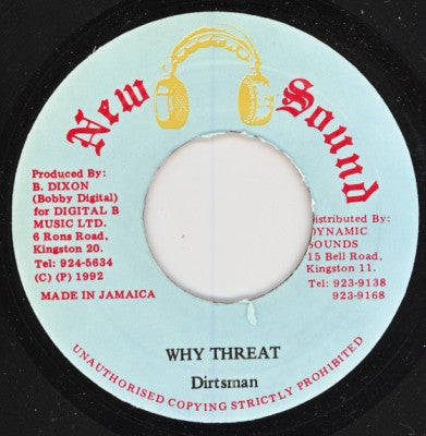 DIRTSMAN - Why Threat / Version