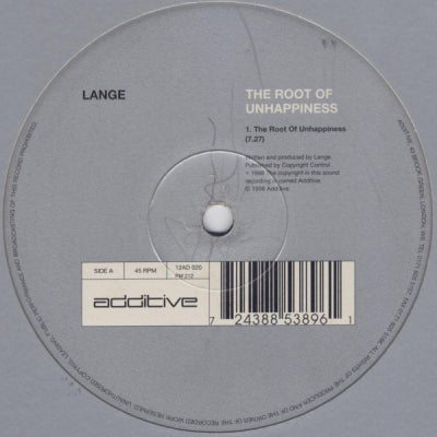 LANGE - The Root Of Unhappiness / Obsession