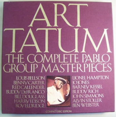 ART TATUM - The Complete Pablo Group Masterpieces