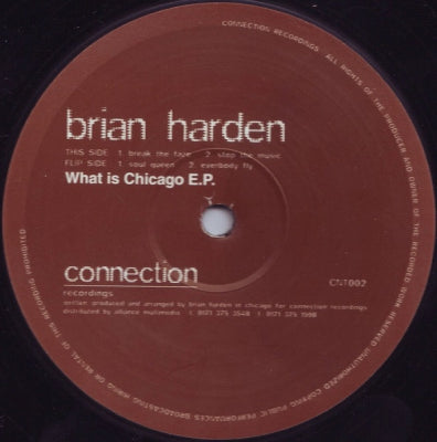 BRIAN HARDEN - What Is Chicago E.P.