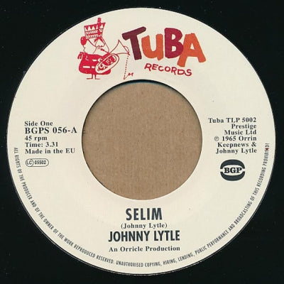 JOHNNY LYTLE - Selim / The Man