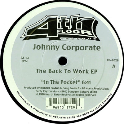 JOHNNY CORPORATE - Back To Work E.P.