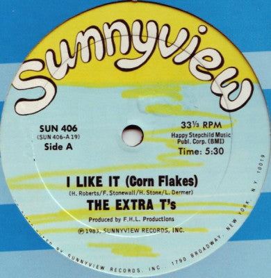 EXTRA T'S - I Like It (Corn Flakes)