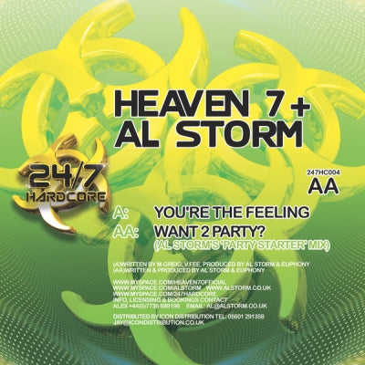 HEAVEN 7 + AL STORM - You're The Feeling / Want 2 Party?