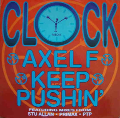 CLOCK - Axel F / Keep Pushin'