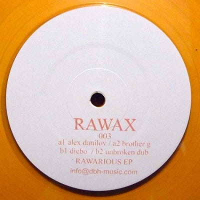 ALEX DANILOV / BROTHER G / DIEBO / UNBROKEN DUB - Rawarious EP