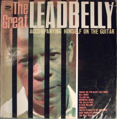LEADBELLY - The Great Leadbelly Accompanying Himself On The Guitar