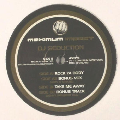 DJ SEDUCTION - Rock Ya Body / Take Me Away