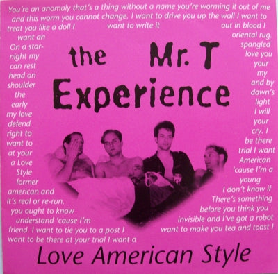 THE MR. T EXPERIENCE - Love American Style