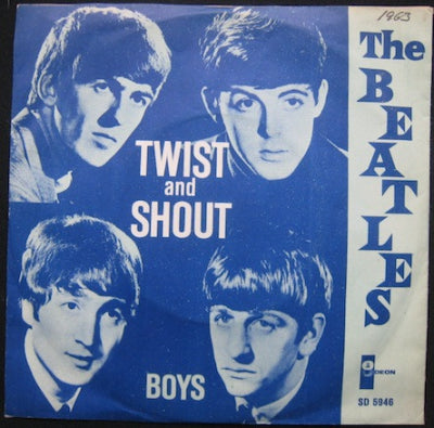 THE BEATLES - Twist And Shout / Boys