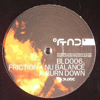 FRICTION + NU BALANCE - Burn Down / Turmoil