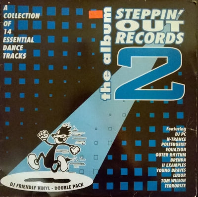 VARIOUS - Steppin' Out Records The Album 2