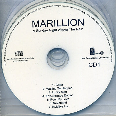 MARILLION - A Sunday Night Above The Rain