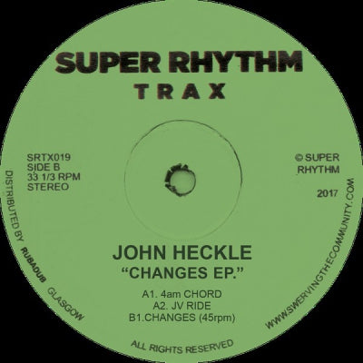 JOHN HECKLE - Changes EP