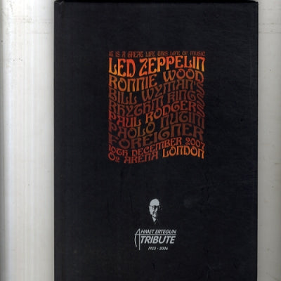 LED ZEPPELIN - Ahmet Ertegun Tribute 1923 - 2006 Tour Programme