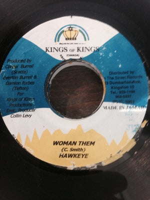 HAWKEYE / HOLLOW POINT - Woman Them / Traiter Spies