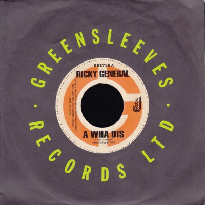 RICKY GENERAL / LEXUS FEATURING WARD 21 - A Wha Dis / Skettel Nine Night