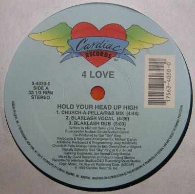 4 LOVE - Hold Your Head Up High