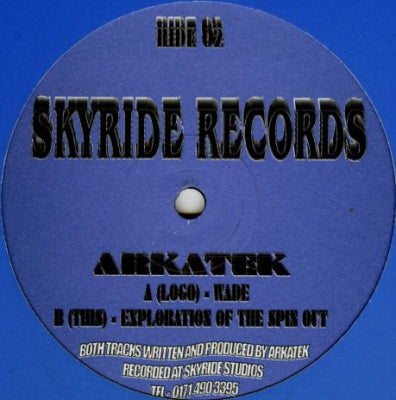 ARKATEK - Wade / Explorations Of The Spin Out
