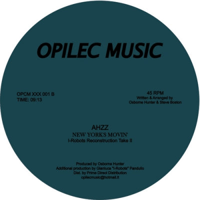 AHZZ - New York Movin'