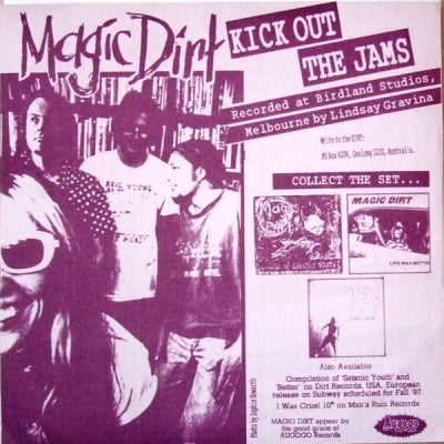 MAGIC DIRT / ANGEL CORPUS CHRISTI / THE NOMADS / THE DICTATORS - Kick Out The Jams / Sleeping With The TV On / 16 Forever / The Next Big Thing