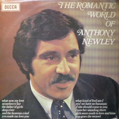 ANTHONY NEWLEY - The Romantic World Of Anthony Newley