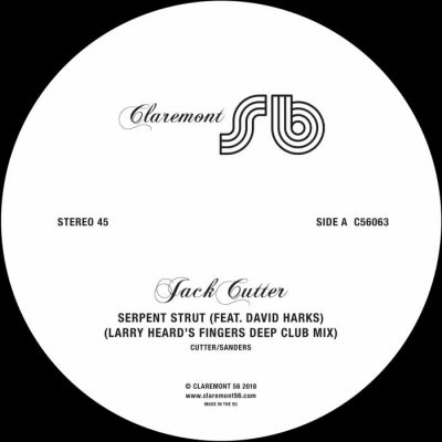 JACK CUTTER / PAQUA - Serpent Strut / Running Machine Faker