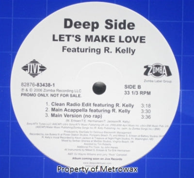 DEEP SIDE FEATURING R. KELLY - Let's Make Love