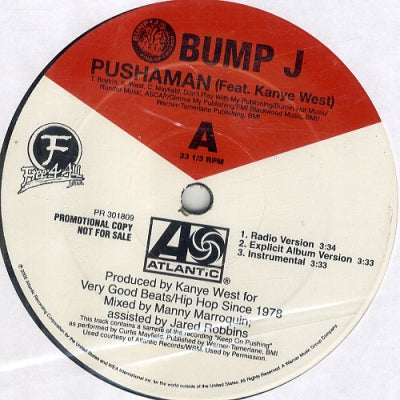 BUMP J FEATURING KANYE WEST - Pushaman
