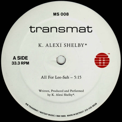 K. ALEXI SHELBY - All For Lee.Sah / My Medusa / Vertigo