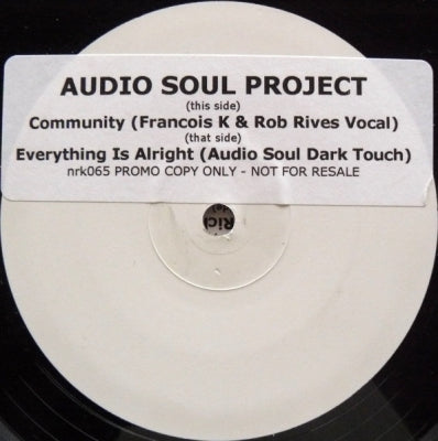 AUDIO SOUL PROJECT - Community 2007