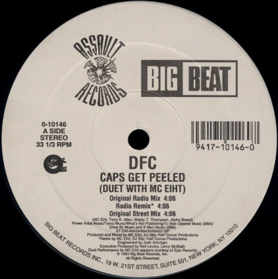 DFC - Caps Get Peeled (Duet With MC Eiht).