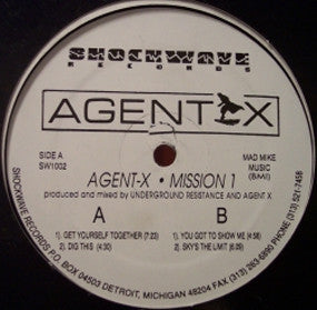 AGENT X - Mission 1
