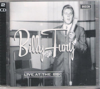 BILLY FURY - Billy Fury Live At The BBC