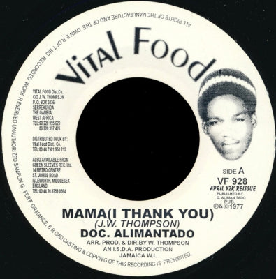 DOC. ALIMANTADO - Mama (I Thank You)