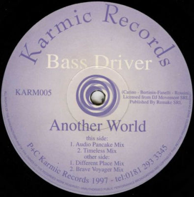 BASS DRIVER - Another World