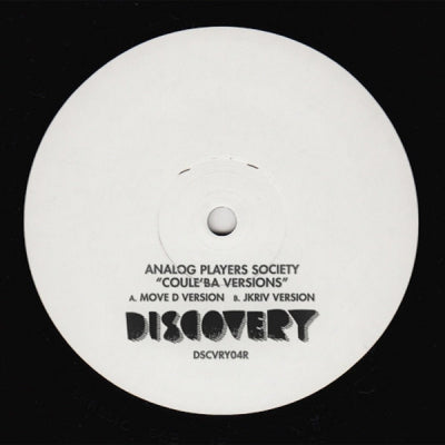 ANALOG PLAYERS SOCIETY - Coule'Ba Versions