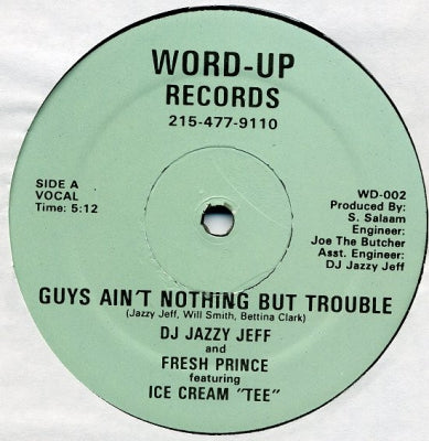 DJ JAZZY JEFF AND FRESH PRINCE FEATURING ICE CREAM 'TEE'. - Guys Ain't Nothing But Trouble
