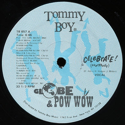 GLOBE & POW WOW - Celebrate! (Everybody)