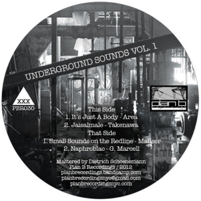 AREA / TAKENAWA / MAUSER / G. MARCELL - Underground Sounds Vol. 1