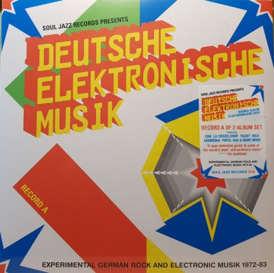 VARIOUS - Deutsche Elektronische Musik (Experimental German Rock And Electronic Musik 1972-83) (Record A)