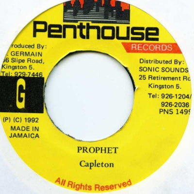 CAPLETON - Prophet / Batty Rider (Remix)