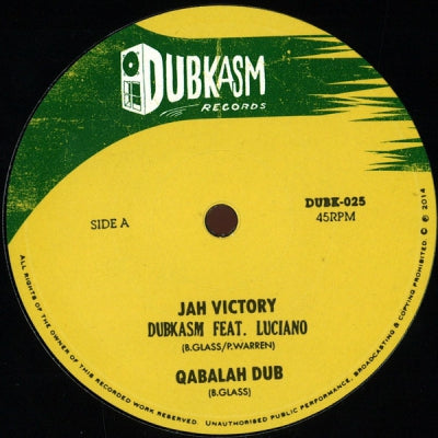 DUBKASM MEETS LUCIANO & TURBULENCE - Jah Victory / Right There
