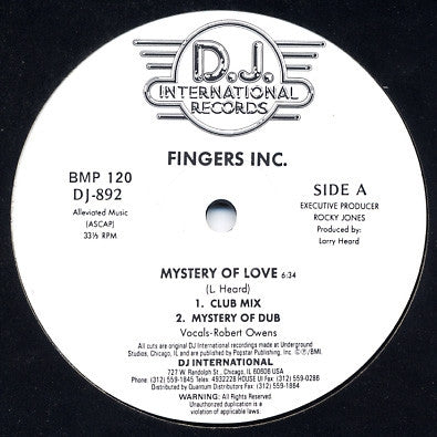 FINGERS INC - Mystery Of Love