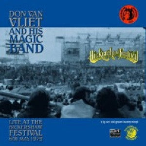 DON VAN VLIET (CAPTAIN BEEFHEART) - Don Van Vliet And His Magic Band - Live At The Bickershaw Festival